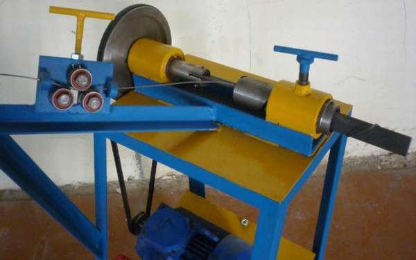 Полуавтомат для изготовления рабицы