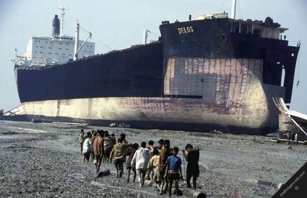 утилизация старого судна