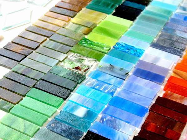 Продукция из стеклобоя