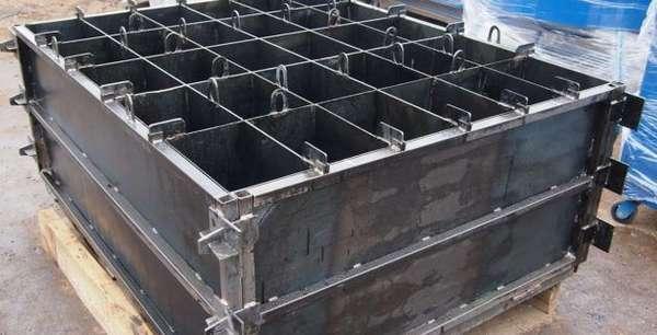 Металлические формы для производства строительных блоков