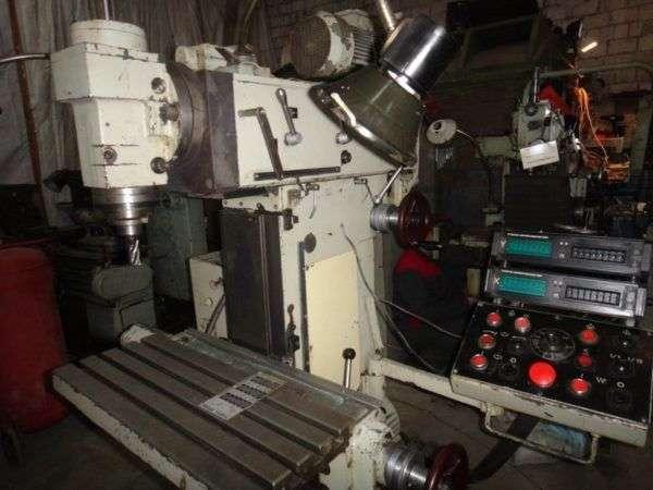 Вертикальный фрезерный станок ОФ 55