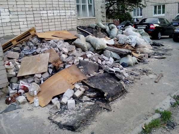 состав строительного мусора