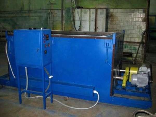 Установка для термодиффузионного цинкования
