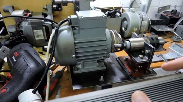 Состовляющие электрики токарного станка