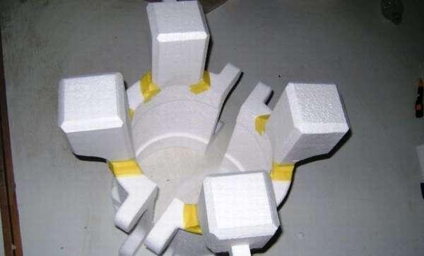 Форма из пенопласта для литья