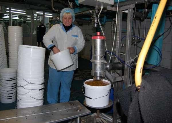 Производство сгущенного молока
