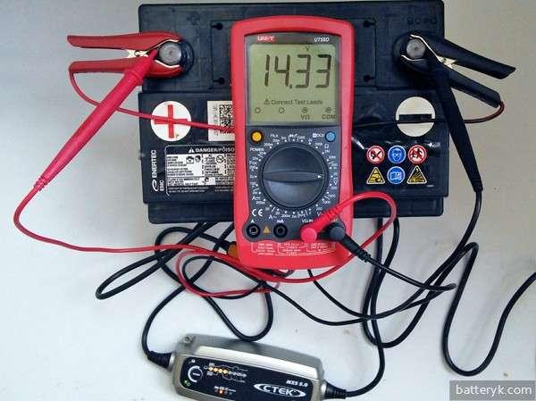 Проверка зарядного устройства