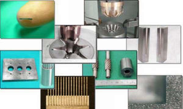 Примеры обработки на электроэрозионных станках