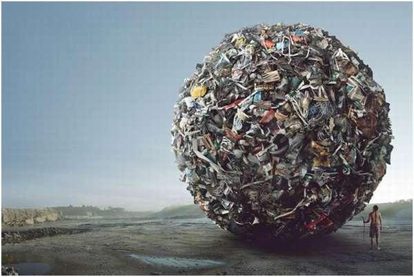 мусорный шар
