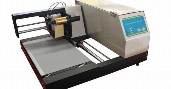 Печатная машина для логотипов