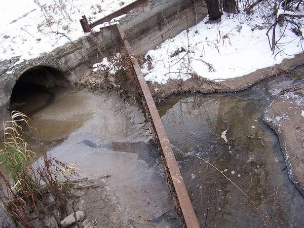 Загрязнение самарских водоемов