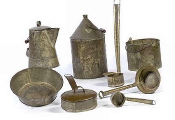 Посуда из олова - олово в хозяйстве