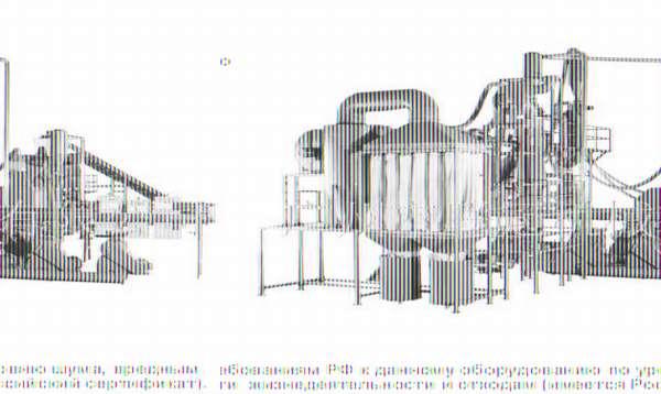 Пиролизное оборудование для переработки шин