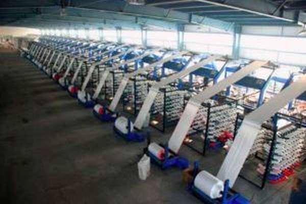 Рабочее помещение для производства полипропиленовых мешков
