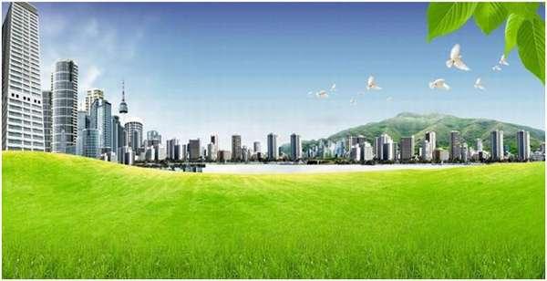 экологичный город