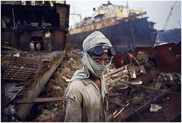 утилизация кораблей в Бангладеш