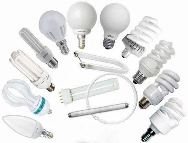 Виды ртутных ламп