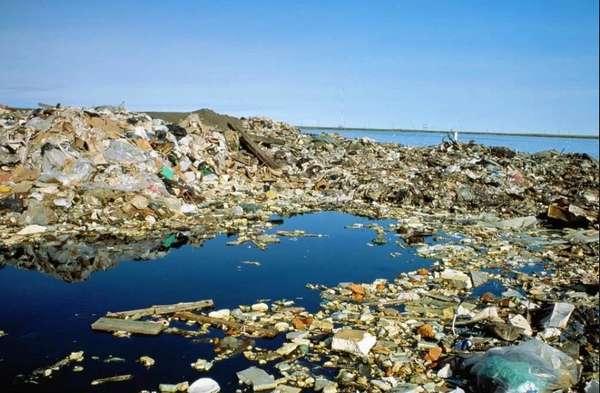 Пластик в мировом океане