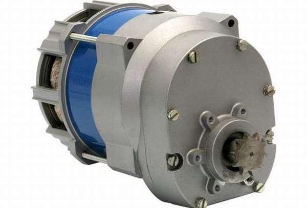Мотор – асинхронный мощностью 350 Вт