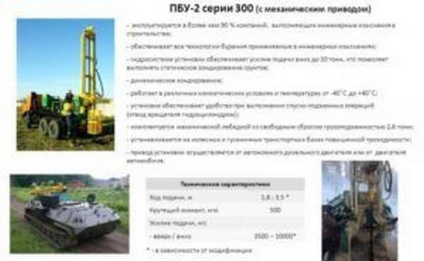 Буровые установки ПБУ-2
