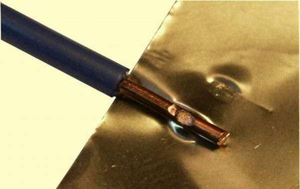 Ультразвуковая сварка двух металлических конструкций