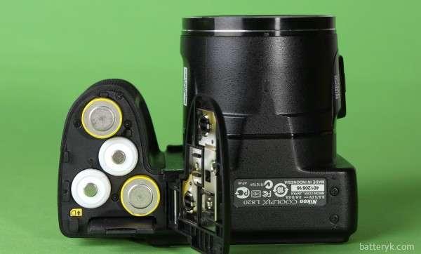 Батареи в камере