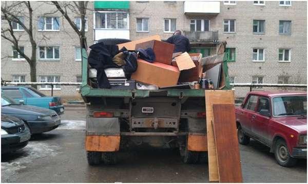 мебель в грузовике