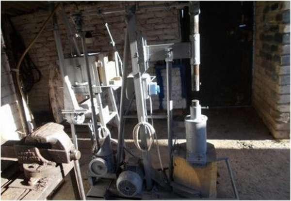 Набор оборудования для кузнечной сварки