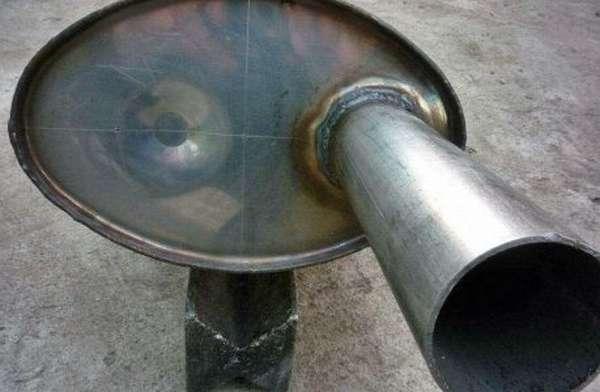 Детали из тонкого металла, сваренные инвертором