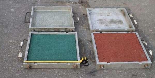 Пресс-формы для производства резиновой плитки