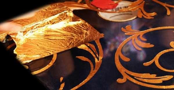 Что такое позолота, чем она отличается от золота и как ее наносят + инструкция по золочению