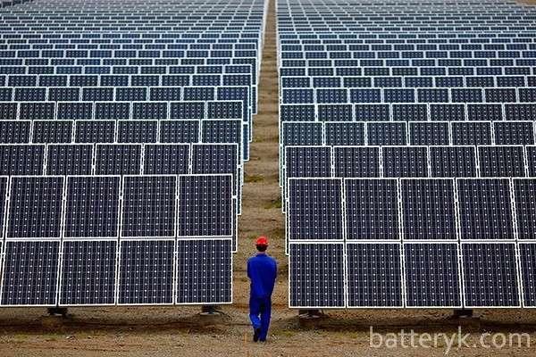 Промышленные солнечные батареи