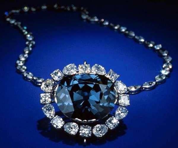 Голубой бриллиант или третий глаз Будды