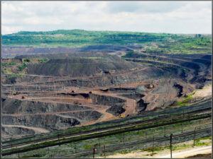 Разработка открытым способом пагубно влияет на почву