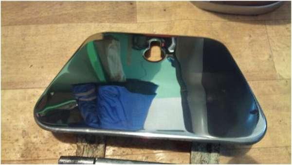 Химическая полировка металла до зеркального блеска