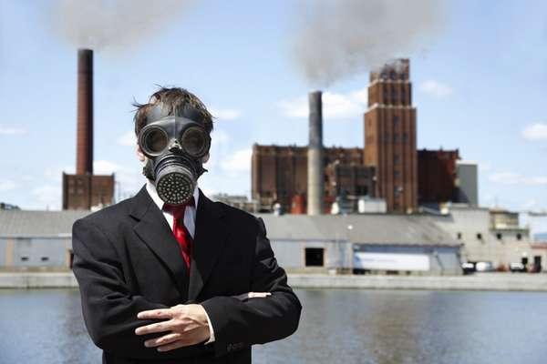 загрязнение заводы