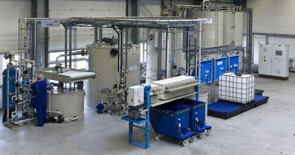 Станция нейтрализации сточных вод