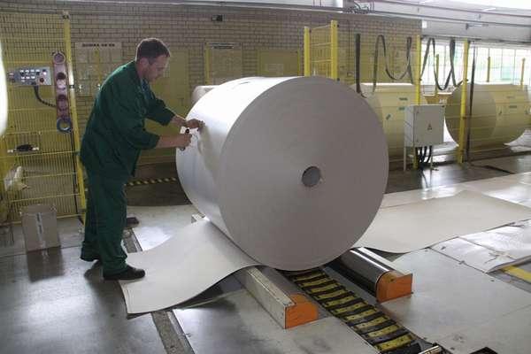 Утилизацией бумаги