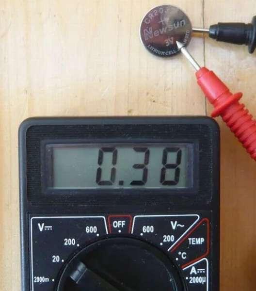 проверка компьютерной батареи