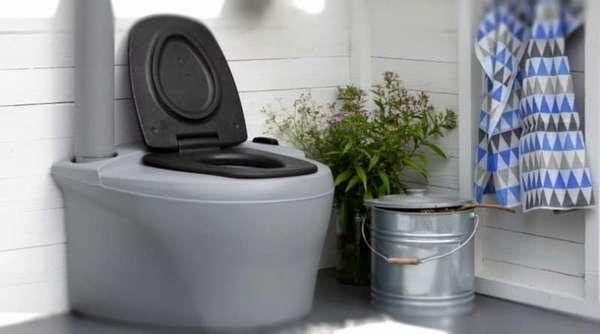 туалеты для дома с переработкой