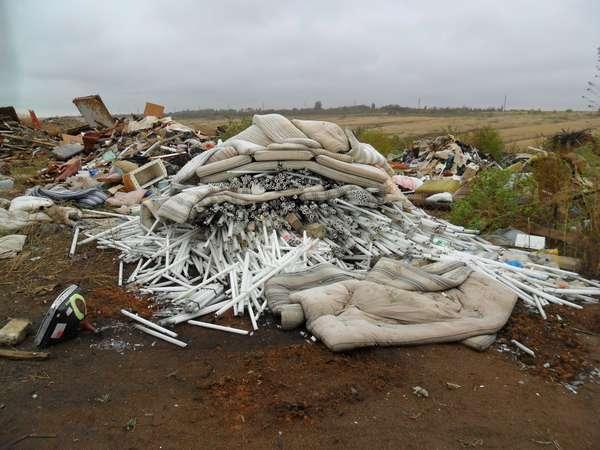 свалки отходов