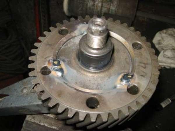 Зубчатое колесо из инструментальной легированной стали