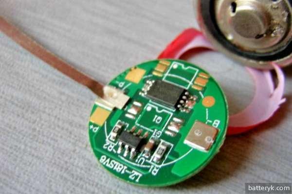 Контроллер внутри