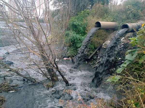 Источник подземных вод загрязненный нефтепродуктами