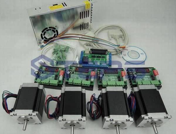 Шаговые двигатели для ЧПУ