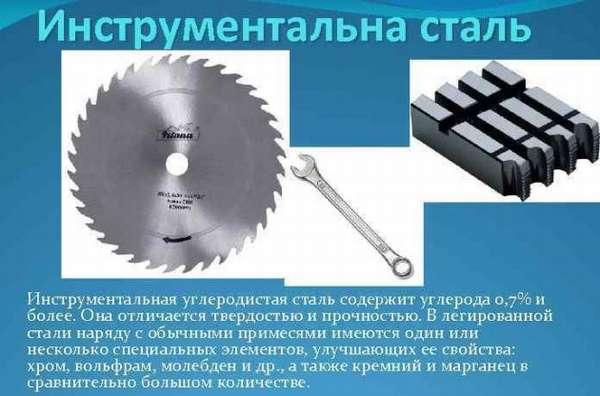 Инструментальная углеродистая сталь