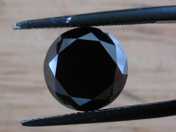 Загадка черного бриллианта и разновидности камня