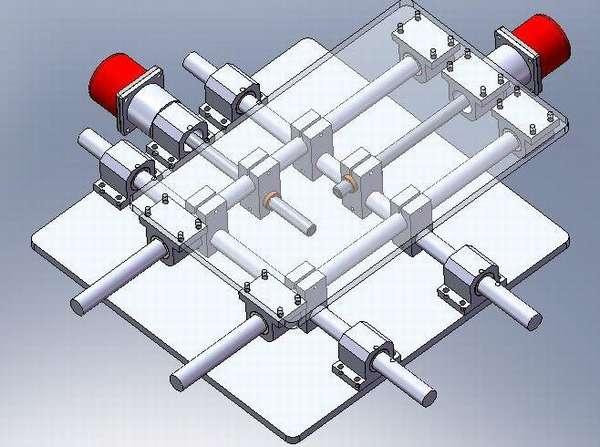 Модель координатного стола