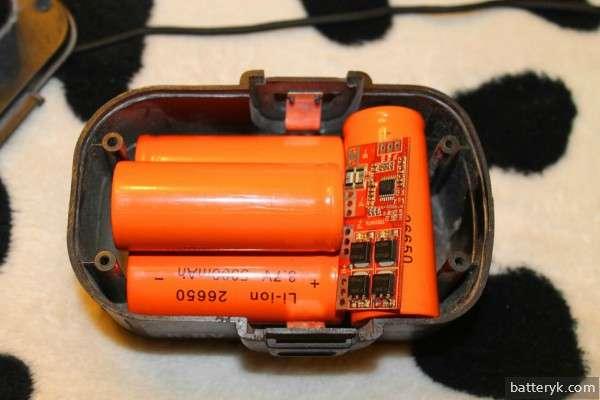 Литий-ионный аккумулятор шуруповерта