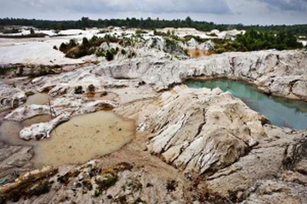 Местность являющияся месторождением олова